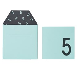 Design Letters Birthday Card - 5 - Green