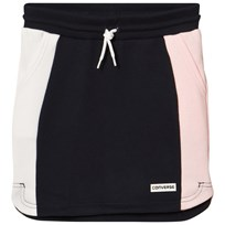 Converse Navy and Pink Retro Trim Skirt OBSIDIAN/ARTIC PUNCH