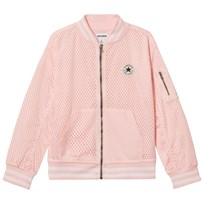 Converse Light Pink Mesh Bomber Jacket ARTIC PUNCH