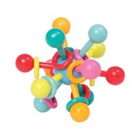 Manhattan Toy Atom Teether Toy Blue