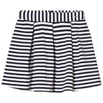 Mayoral Navy Stripe Skirt 39