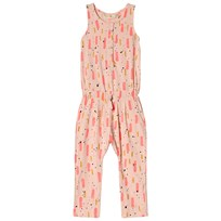 Soft Gallery Serpentine Jumpsuit Peach Parfait Beat Peach Parfait AOP Beat