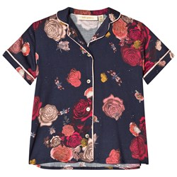 Soft Gallery Aline Shirt India Ink AOP Bloom