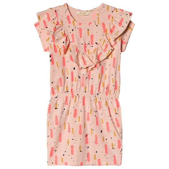 Soft Gallery Ariella Beat Print Klänning Peach Parfait Peach Parfait AOP Beat
