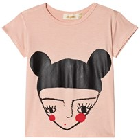 Soft Gallery Pilou T-shirt Rose Cloud Rose cloud Topknot