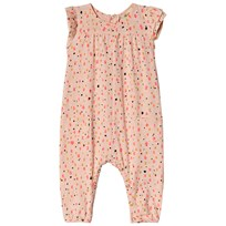 Soft Gallery Abigail Shimmy Print Jumpsuit Peach Parfait Peach Parfait AOP Shimmy