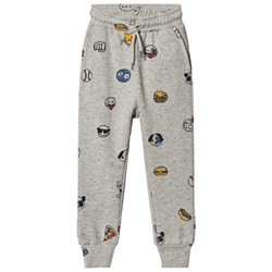 Soft Gallery Jules Pants Grey Black Neppy Emojo Big