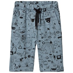Soft Gallery Austin Shorts Citadel Black Neppy Quirky Big