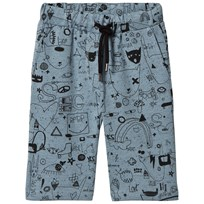 Soft Gallery Austin Quirky Big Print Shorts Citadel Black Neppy Citadel Black Neppy AOP Quirky Big