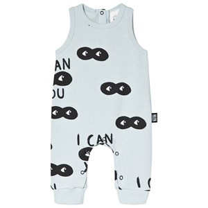 Image of Little Man Happy I Can See You Jumpsuit Blue 56-62 (0-6 months) (2964314141)