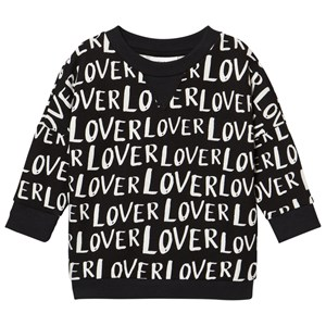 Image of Little Man Happy Lover Loose Sweater Black 140-146 (10-12 years) (2964315453)