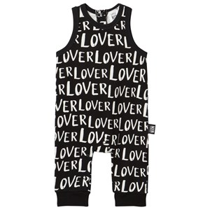 Image of Little Man Happy Lover Jumpsuit Black 56-62 (0-6 months) (2964315421)