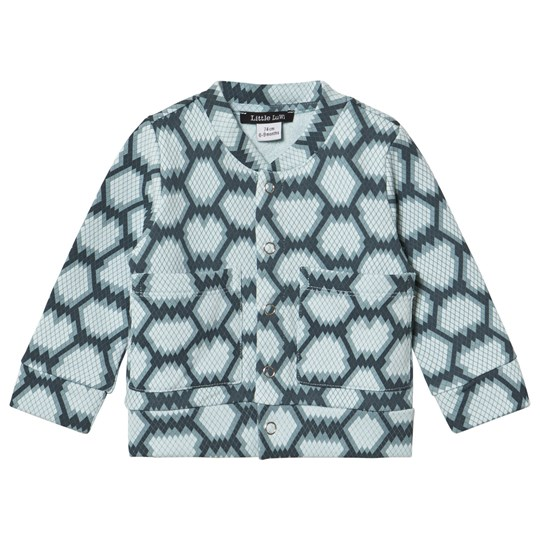 Little LuWi Blue Snake Bomber Jacket SNAKE PRINT