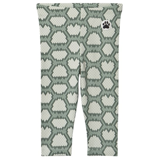 Little LuWi Green Snake Leggings SNAKE PRINT
