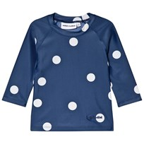 Mini Rodini Dot UV Top Navy Navy