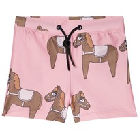 Mini Rodini Horse Swim Pants Pink Pink