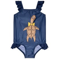 Mini Rodini Turtle Wing Swimsuit Navy Navy