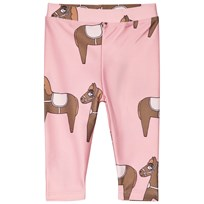 Mini Rodini Horse Fancy Leggings Pink Pink