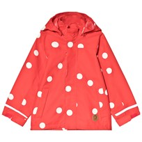 Mini Rodini Edelweiss Jacket Red Punainen