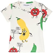Mini Rodini Veggie T-shirt Vit White