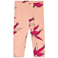 Mini Rodini Swallows Leggings Rosa Pink