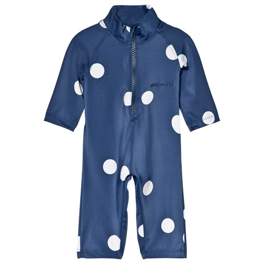 42b06bd047c Mini Rodini - Dot UV Rash Suit Navy - Babyshop.com