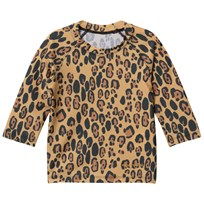 Mini Rodini Leopard UV Top Beige Beige