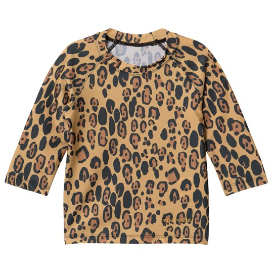 df1722a4a4c Mini Rodini - Leopard UV Top Beige - Babyshop.com
