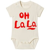 Mini Rodini Oh La La Baby Body Off White Offwhite