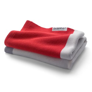 Image of Bugaboo Light Cotton Blanket Neon Red (2965218823)
