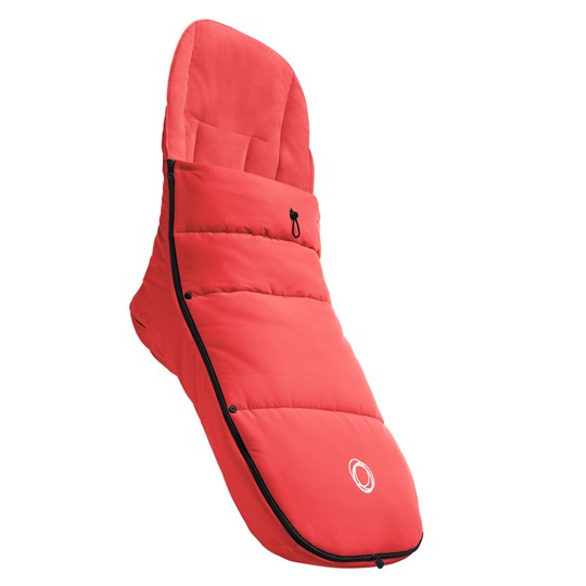Bugaboo Footmuff Neon Red Red