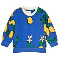 Mini Rodini Lemon Sweatshirt Blue Blue