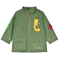 Mini Rodini Veggie Patch Jacket Green Green