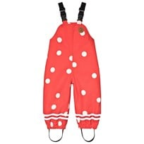 Mini Rodini Edelweiss Dot Pants Red Red