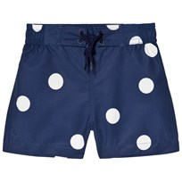 Mini Rodini Dot Swimshorts Navy Navy