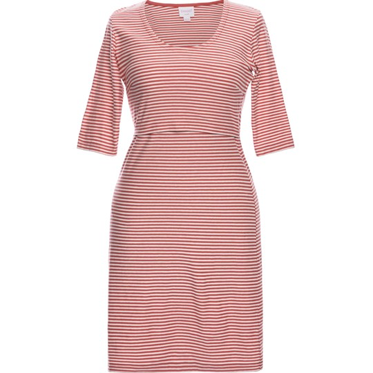 Boob Eva Striped Dress Tofu/Faded Rose tofu/faded rose