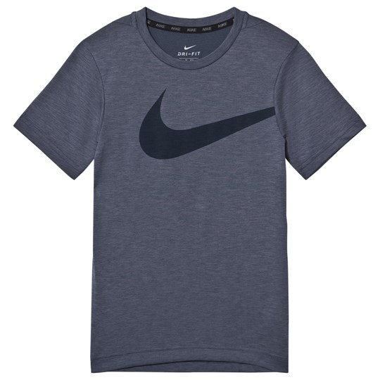 NIKE Breath Hyper GFX Tee Blue 471