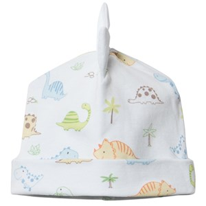 Image of Kissy Kissy Blue Dinosaur Print Beany Hat small (3-6 months) (2965217957)