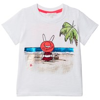 Livly White On Vacation T-Shirt On Vacation