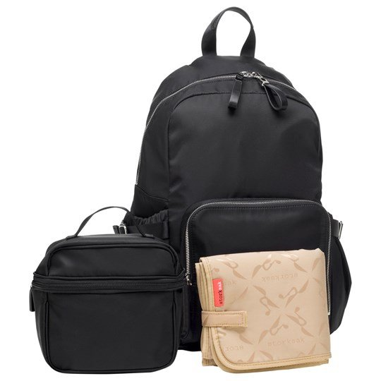 Storksak Hero Backpack Black Black