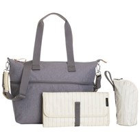 Storksak Expandable Tote Grey Sort