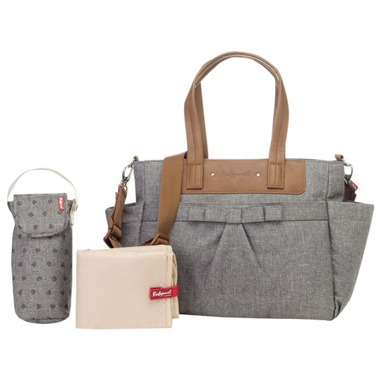 Babymel Cara Bloom Changing Bag Grey Black