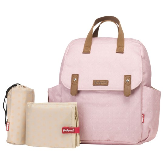 Babymel Robyn Convertible Backpack Dusty Pink Dusty Rose