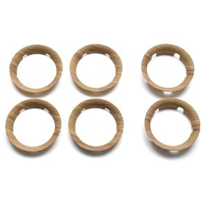 Image of Bugaboo Bee5 Wheel Caps Wood (2996514121)