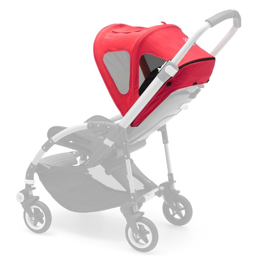 Bugaboo Bee Breezy Sun Canopy Neon Red Red