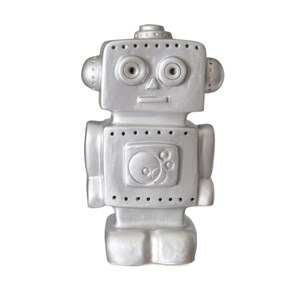 Image of HEICO Robot Lamp Silver (2965219301)