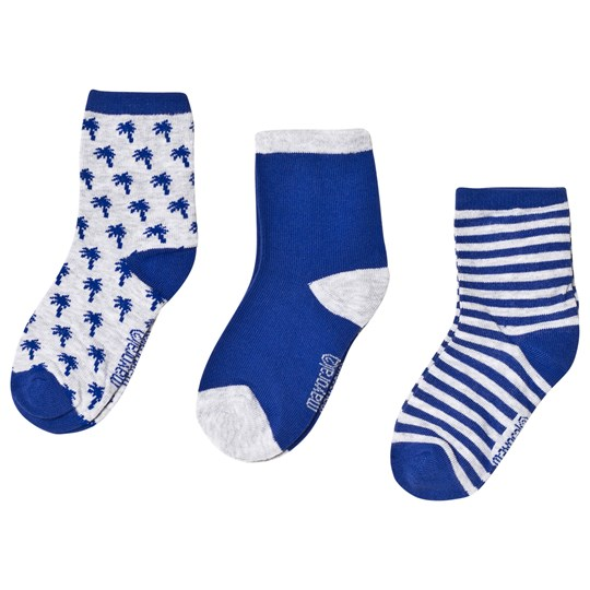 Mayoral Pattern, Stripe and Plain Socks 3-Pack 52