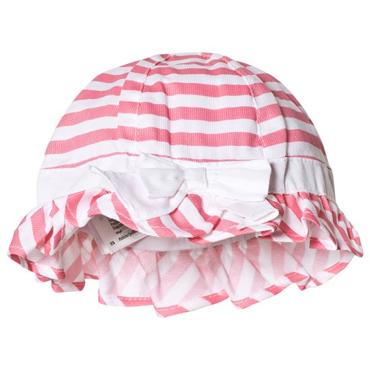 Mayoral Pink Stripe Hat 61