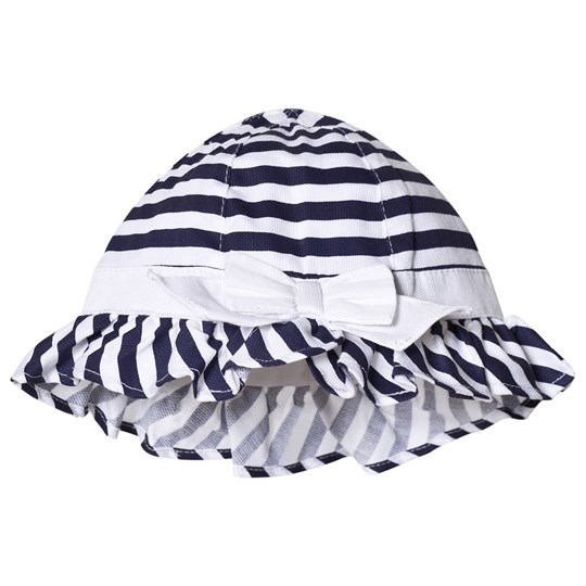 Mayoral Navy Stripe Hat 59