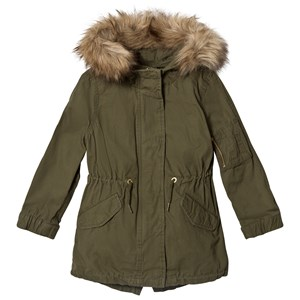 Image of GAP 3 in 1 Vest and Army Jacket Green L (9-10 år) (2965217647)
